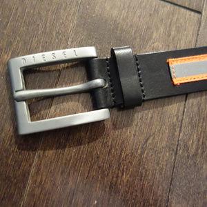 Diesel Leather Belt 21 49DU KOBY DRA